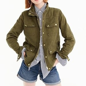 J. Crew Uncoated Downtown Field Jacket